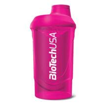 BioTechUSA Keverőpalack Biotech Wave Shaker 600ml magenta