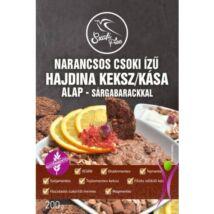 Szafi Free narancsos csoki ízű hajdina kása- és keksz alap - sárgabarackkal 200 g (gluténmentes)