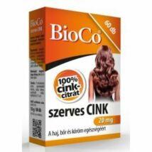 BioCo szerves CINK tabletta 60x