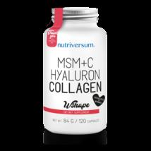 Nutriversum WSHAPE Collagene+Hyaluron+MSM unflavoured 120 kapszula