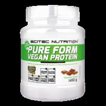 Scitec Pure Form Vegan Protein 450g csokoládé