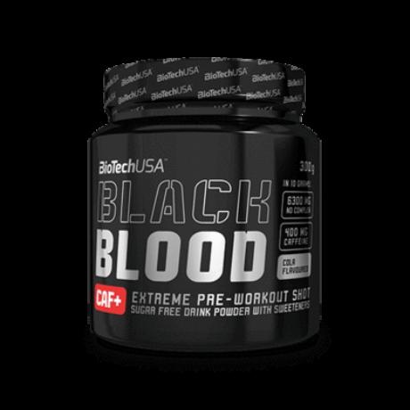 BiotechUSA Black Blood CAF+ 300 g Áfonya ízű