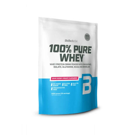 BioTechUSA 100% Pure Whey 1000g Meggyes joghurt
