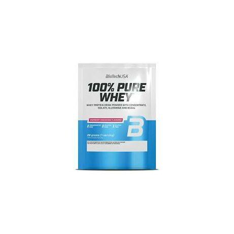 BioTechUSA 100% Pure Whey 28g Málnás Sajttorta