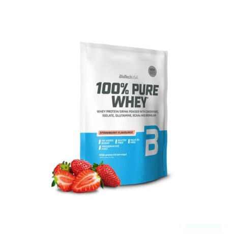 BioTechUSA 100% Pure Whey 1000g Eper