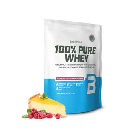 BioTechUSA 100% Pure Whey 1000g Málnás sajttorta