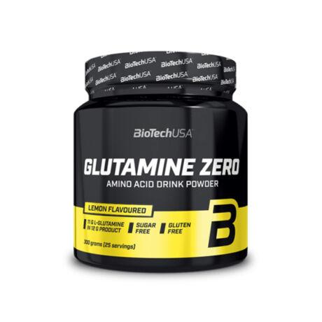 BioTechUSA Glutamine Zero 300g citrom