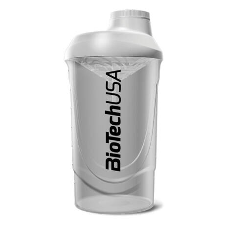 BioTechUSA Keverőpalack Biotech Wave Shaker  600ml átlátszó