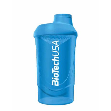 BioTechUSA Keverőpalack Biotech Wave Shaker 600ml kék