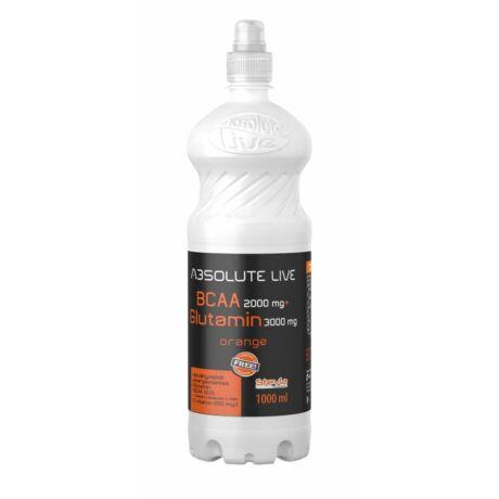 Absolute Live BCAA+L-Glutamine Blackcurrant-Elderflower 1000 ml