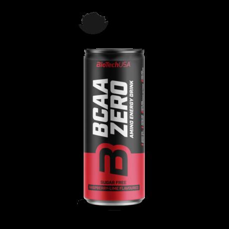 BioTechUSA BCAA Zero  energy drink 330ml málna-lime