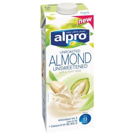 Alpro Mandulaital Pörköletlen cukormentes 1000 ml