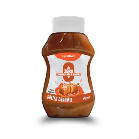 GymBeam Kalóriamentes szirup 350 ml salted caramel