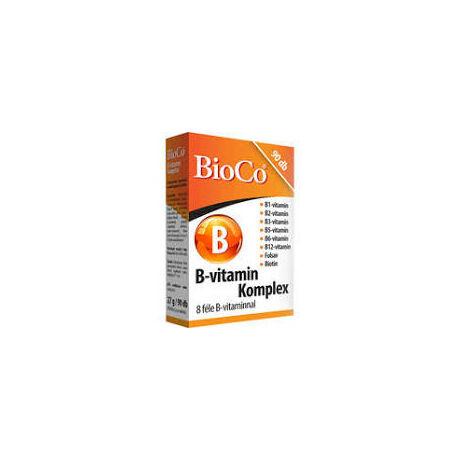 BioCo B-vitamin Komplex tabletta 90x