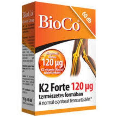BioCo K2 vitamin Forte 120ng tabletta 60x