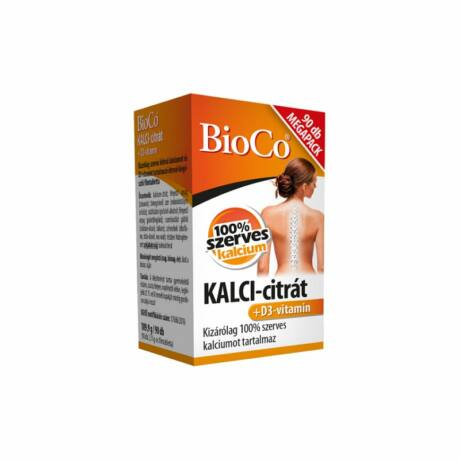 BioCo Kalci-citrát+D3-vitamin MEGAPACK filmtabletta 90x