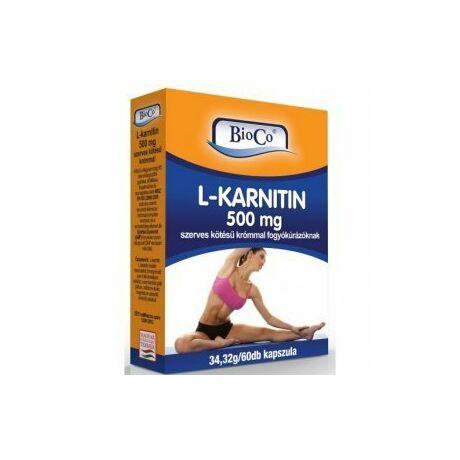 BioCo-L-karnitin kapszula 60x