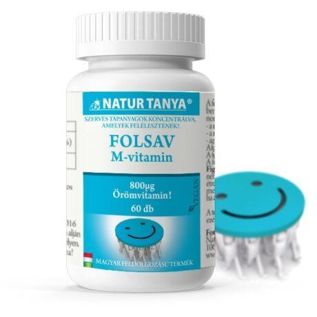 Natur Tanya Szerves Folsav (M-Vitamin) 60tabl.