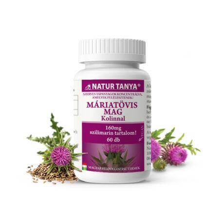 Natur Tanya Szerves Máriatövis+Kolin 60tabl.