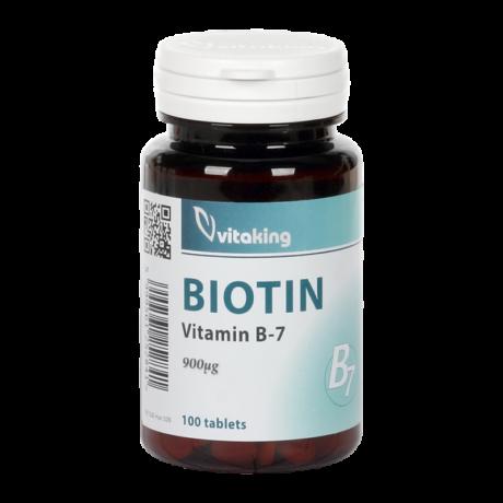 Vitaking Biotin B-7 900mcg 100tab.