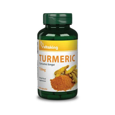 Vitaking Kurkuma Turmeric 720mg 60kapsz.