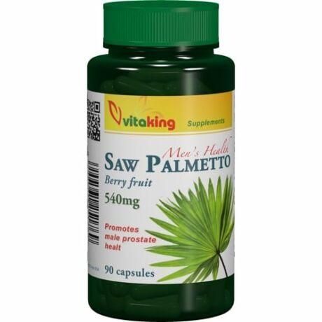 Vitaking Saw Palmetto Fűrészpálma 540mg 90kapsz.