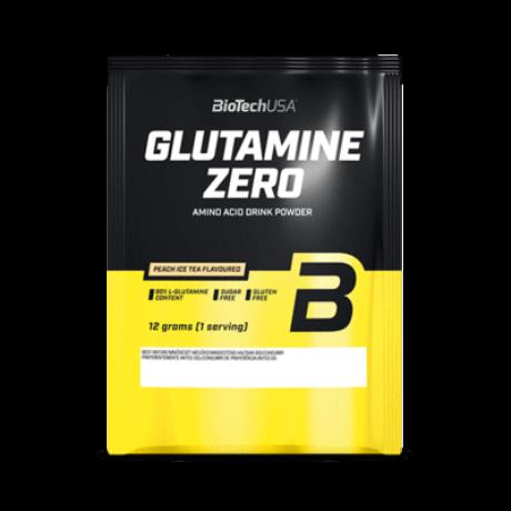 BioTechUSA GLUTAMINE ZERO 12g barackos ice tea