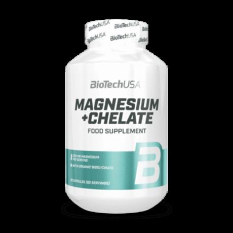 BioTechUSA Magnesium+Chelate 60caps.