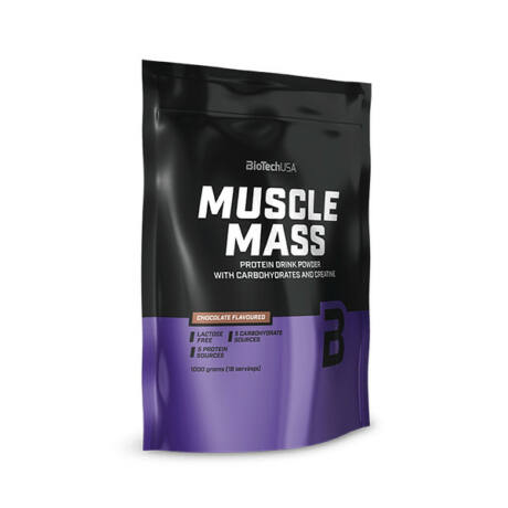 BioTechUSA Muscle Mass 1000g Vanília