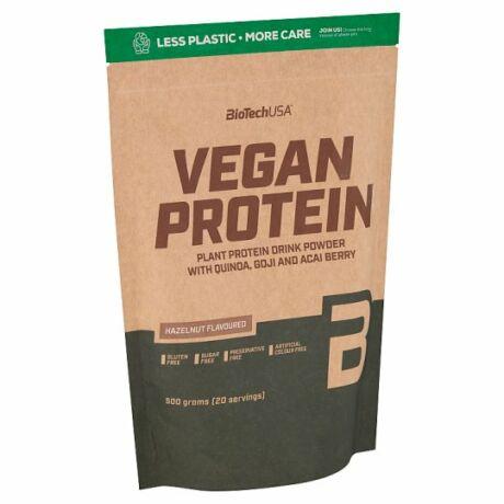 BioTechUSA VEGAN Protein 500g mogyoró