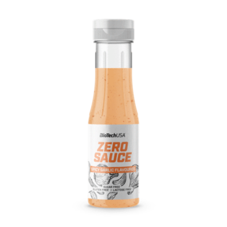 BioTechUSA Zero Sauce 350ml fűszeres fokhagyma