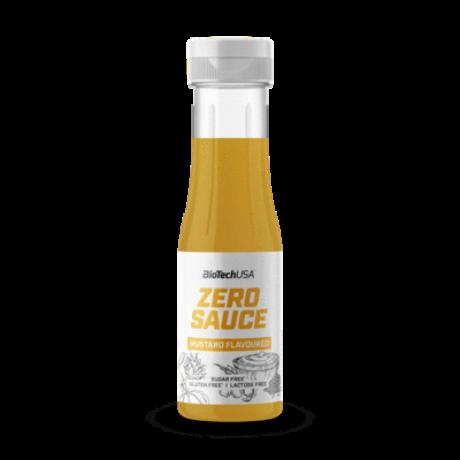 BioTechUSA Zero Sauce 350ml mustár
