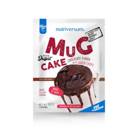 Nutriversum Dessert Mugcake 50g chocolate-chocolate pieces