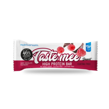 Nutriversum Dessert Taste Mee Protein Bar 50g chocolate-raspberry