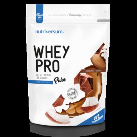 Nutriversum Pure Whey Pro 1000g chocolate coconut