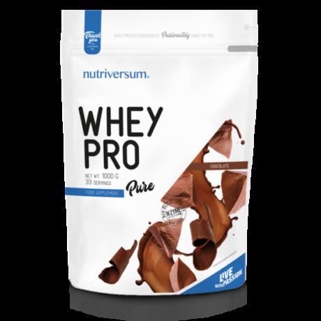 Nutriversum Pure Whey Pro 1000g chocolate