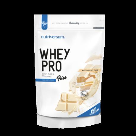 Nutriversum Pure Whey Pro 1000g white chocolate
