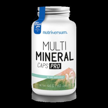 Nutriversum Vita Multimineral Caps Pro unflavoured 60 kapszula