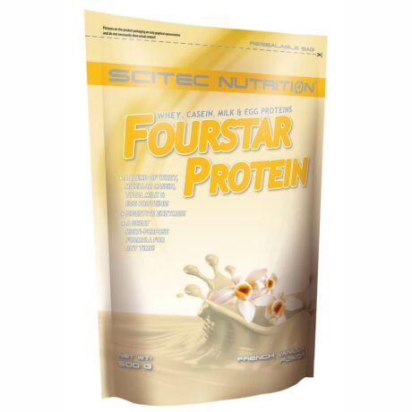Scitec Fourstar Protein 500g francia vanília