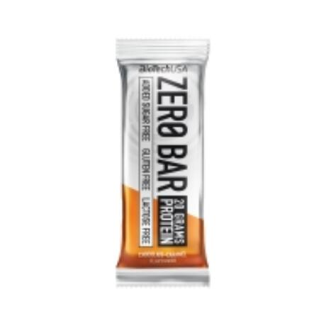 BioTechUSA ZERO BAR 50g csokoládé-karamell