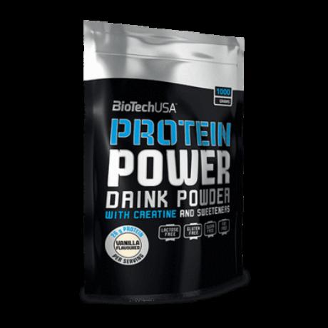 BioTechUSA Protein Power 1000g ZSÁKOS vanília