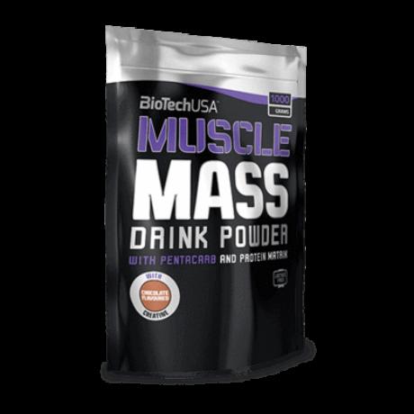 BioTechUSA Muscle Mass 1000g Csokoládé