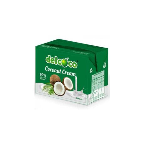 DELCOCO Kókusztejszín 200ml