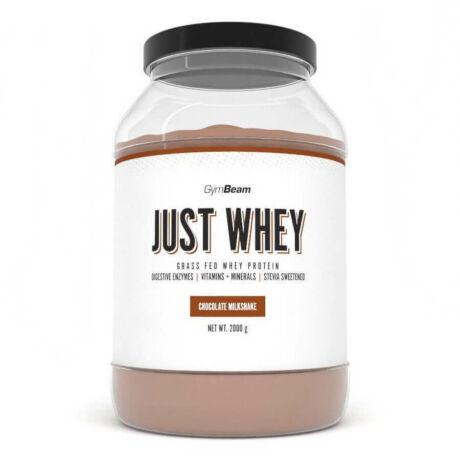 GymBeam Just Whey fehérje 1000g chocolate milkshake
