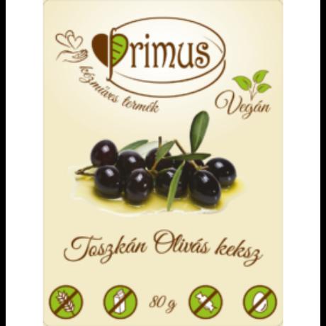 Primus Paleo Toscan Olivás keksz 80g