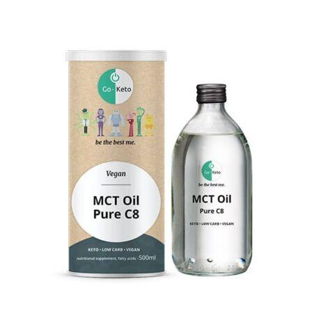 Go-Keto MCT Oil Keto Pure Coconut C8 500ml