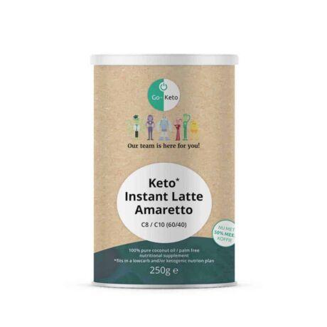 GO Keto MCT Powder Keto Coffee Amaretto 250g