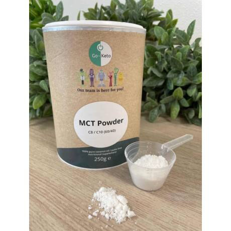GO Keto MCT Powder Keto Coconut Premium C8/C10 250g