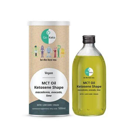 Go-Keto MCT Oil Ketosene Energy C8/C10 500ml (Green Power)