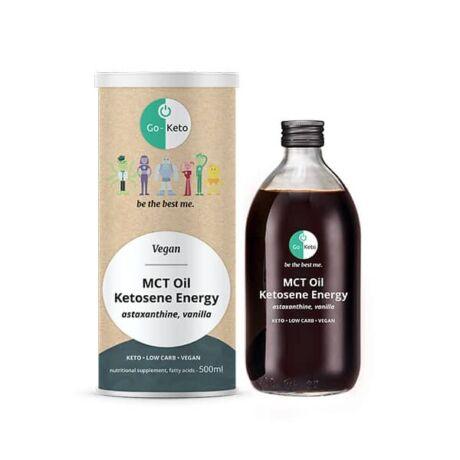Go-Keto MCT Oil Ketosene Shape C8/C10 500ml (Red Human Jet Fuel)